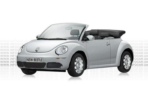 Цвета New Beetle Cabriolet