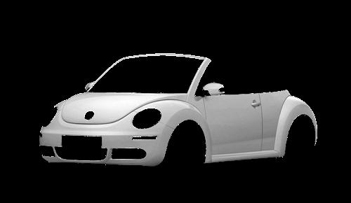 Цвета кузова New Beetle Cabriolet